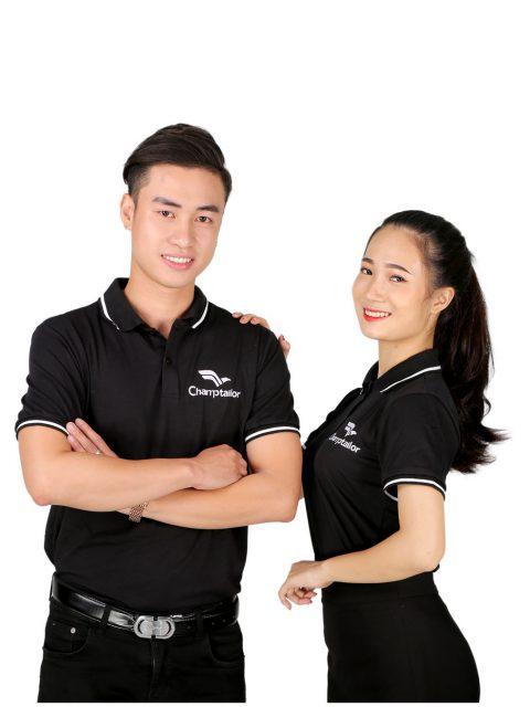 Áo thun phông đồng phục đẹp công ty Champtailor-01