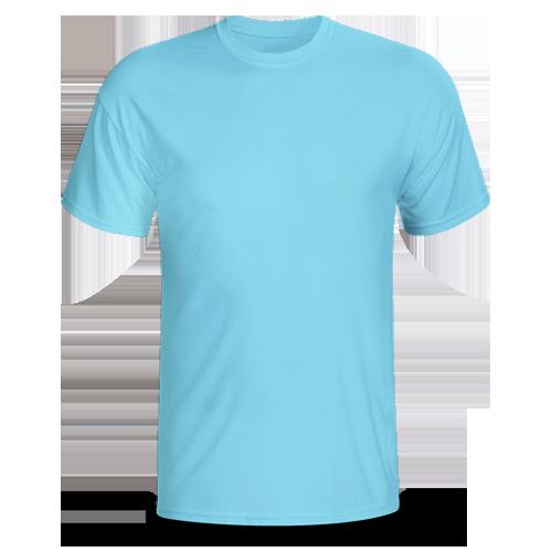 Vải áo thun phông đồng phục phông cổ tròn VT0013