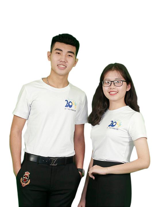 Áo phông đồng phục hợp lớp HL0001-1