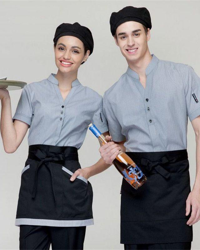 Đồng phục tạp dề nhà hàng khách sạn NHKS0002