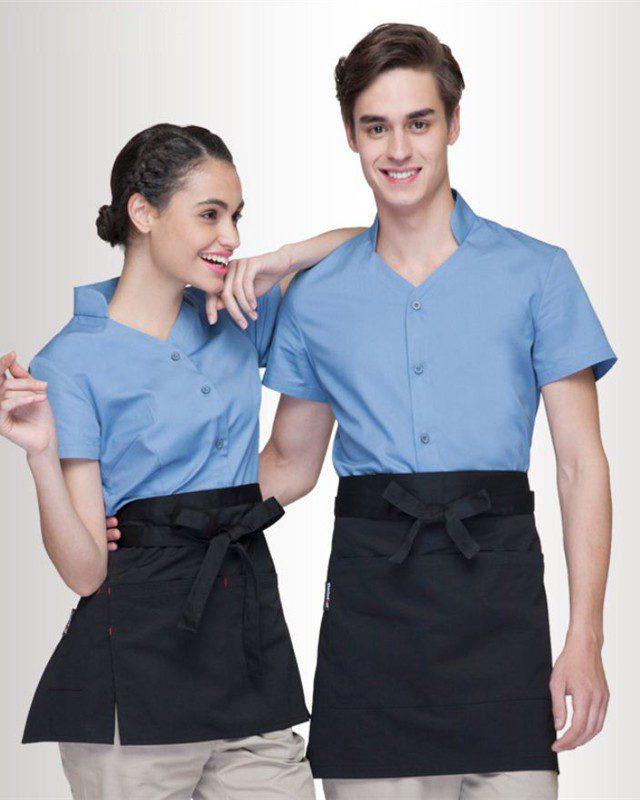 Đồng phục tạp dề nhà hàng - khách sạn NHKS0004