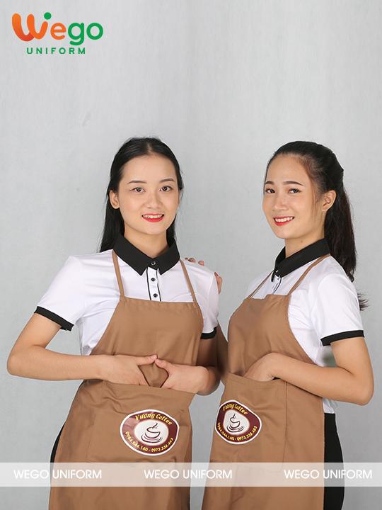 Đồng phục tạp dề Vương coffee