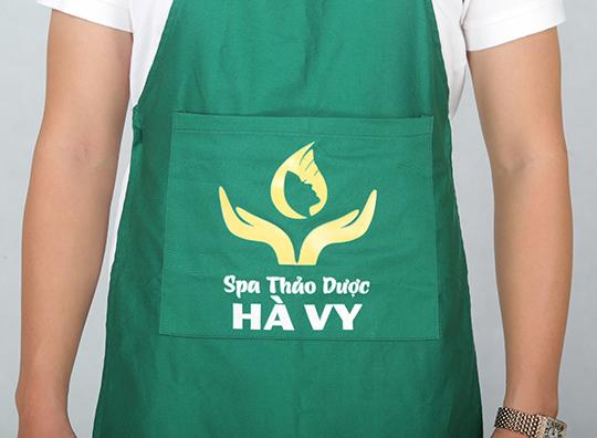Tạp dề spa thảo dược Hà Vy