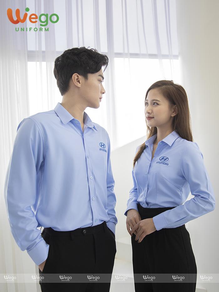 Đồng phục áo sơ mi Hyundai