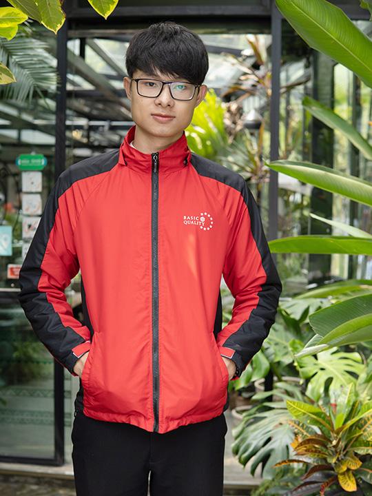 Áo khoác áo gió đồng phục AK0023