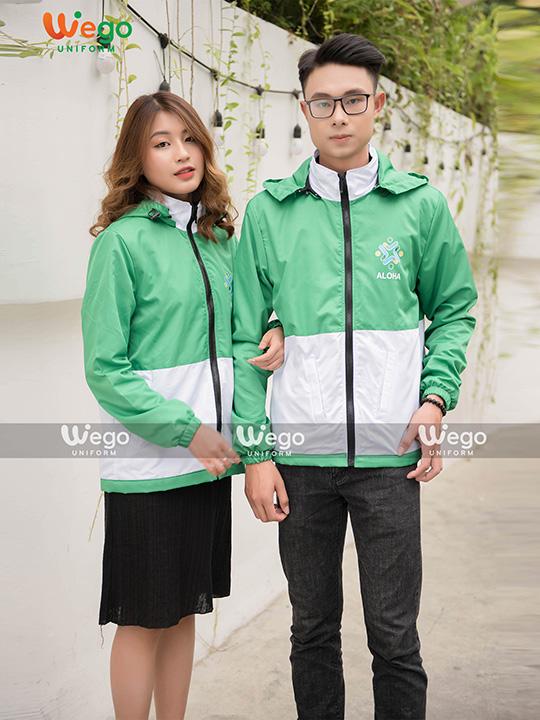 Áo khoác đồng phục Công ty Aloha Việt Nam