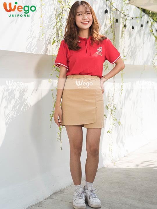 Áo phông đồng phục tiệm Trà Chanh Ông Nội-a002