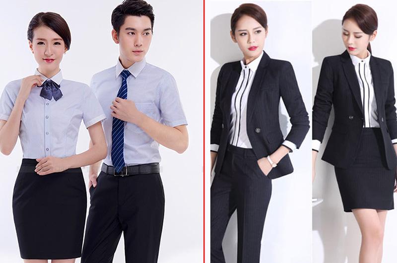 Kho mẫu đồng phục công sở đẹp