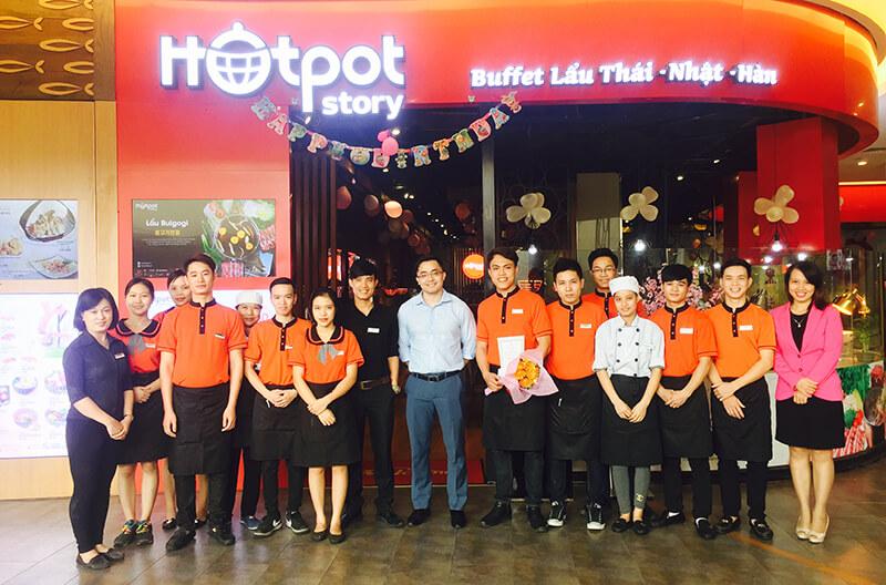 Áo phông đồng phục nhà HotPot story