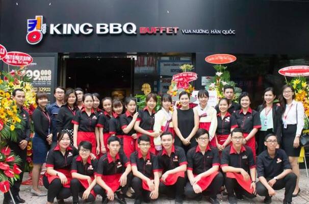 Áo phông đồng phục nhà hàng King BBQ Buffet