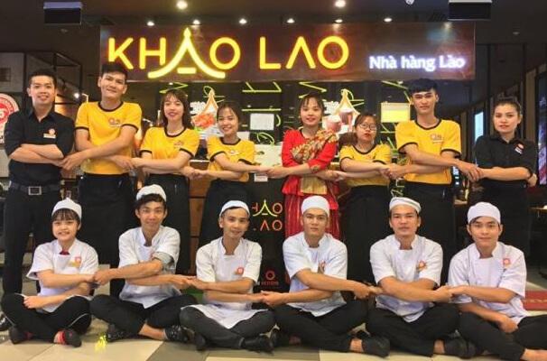 Áo phông đồng phục nhà hàng Lào