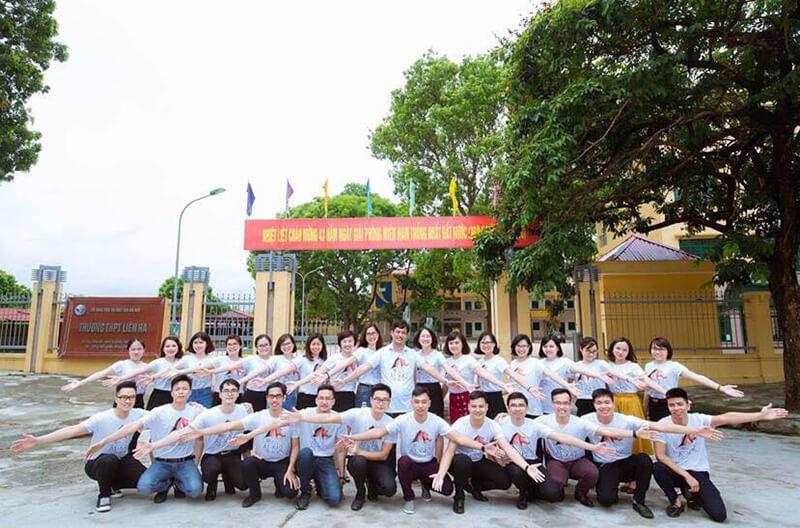 Áo phông họp lớp THCS Đoàn Thị Điểm