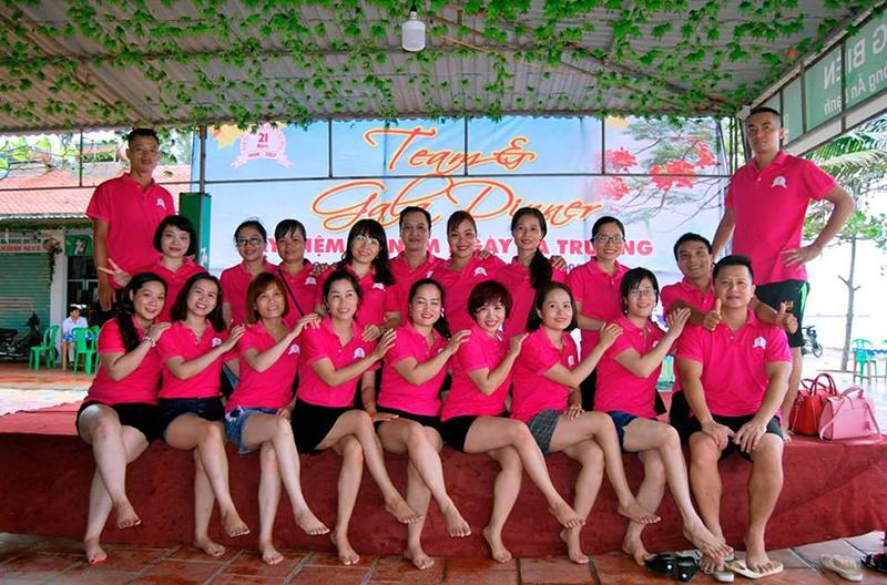 Áo phông họp lớp THPT Nguyễn Trãi