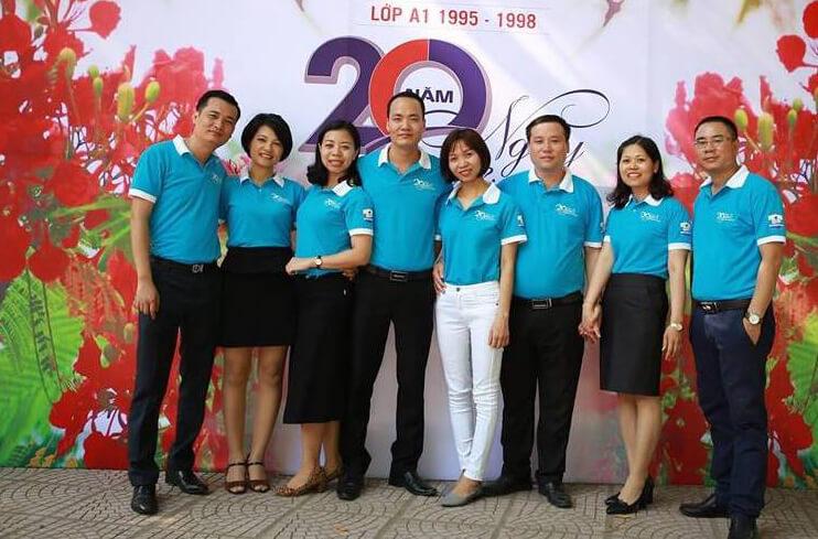 Áo phông họp lớp THCS Nguyễn Hiền