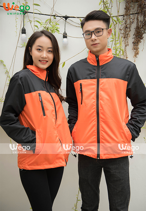 Đồng phục áo gió Wego AG006