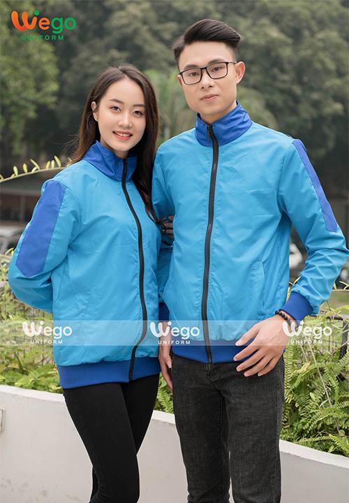 Đồng phục áo gió Wego AG007