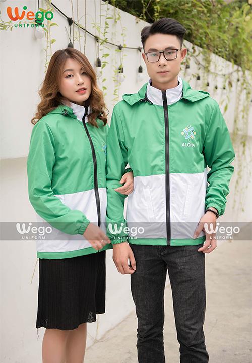 Đồng phục áo gió Wego AG008