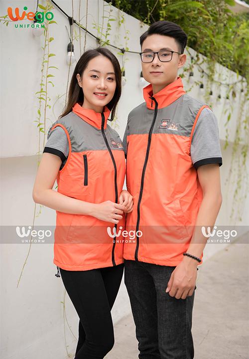 Đồng phục áo gió Wego AG009