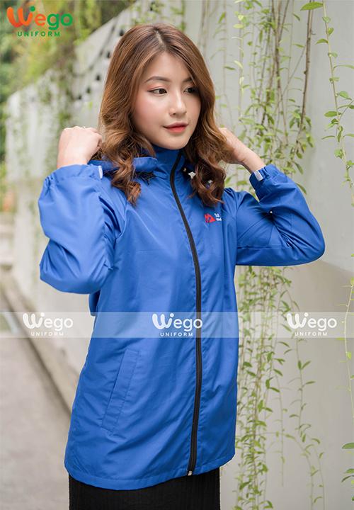 Đồng phục áo gió Wego AG010