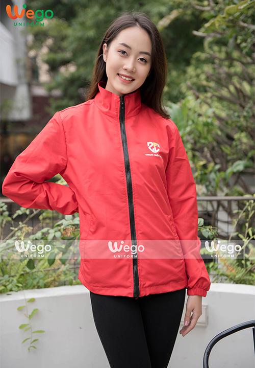 Đồng phục áo gió Wego AG011