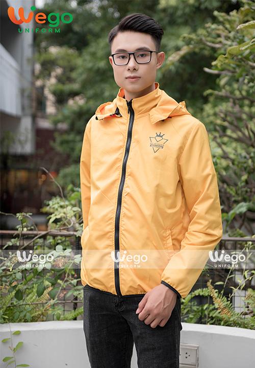 Đồng phục áo gió Wego AG012