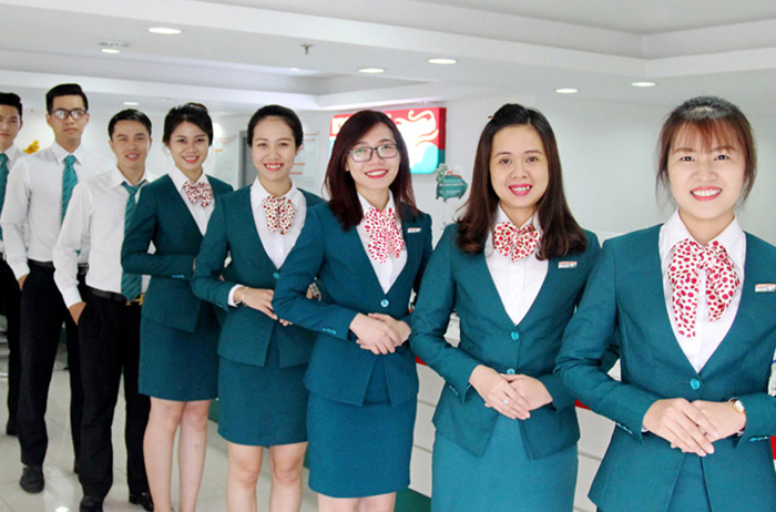 Đồng phục công sở vest Kienlongbank