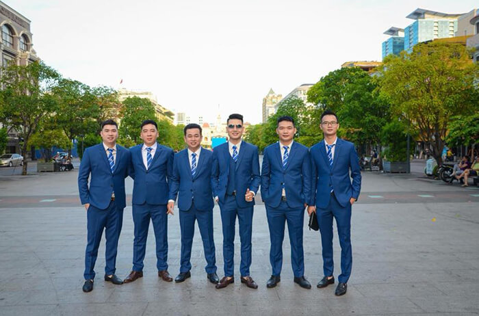 Đồng phục công sở vest