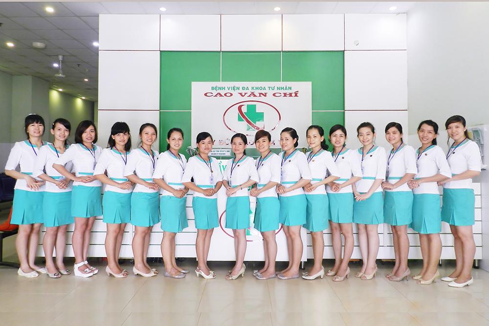 Đồng phục bệnh viện đa khoa Cao Văn Chí