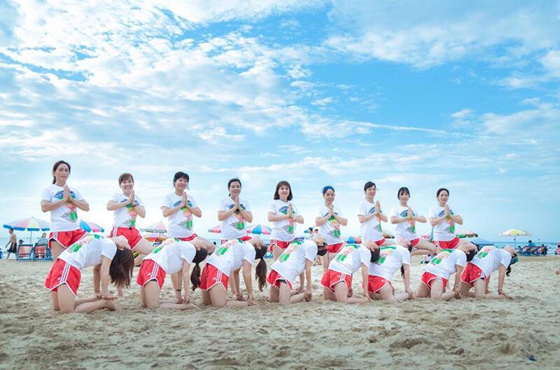 Áo phông đồng phục du lịch tập đoàn Doji