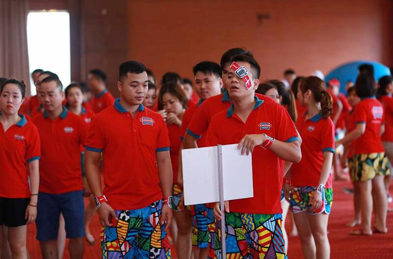 Áo phông đồng phục du lịch tập đoàn Sun house