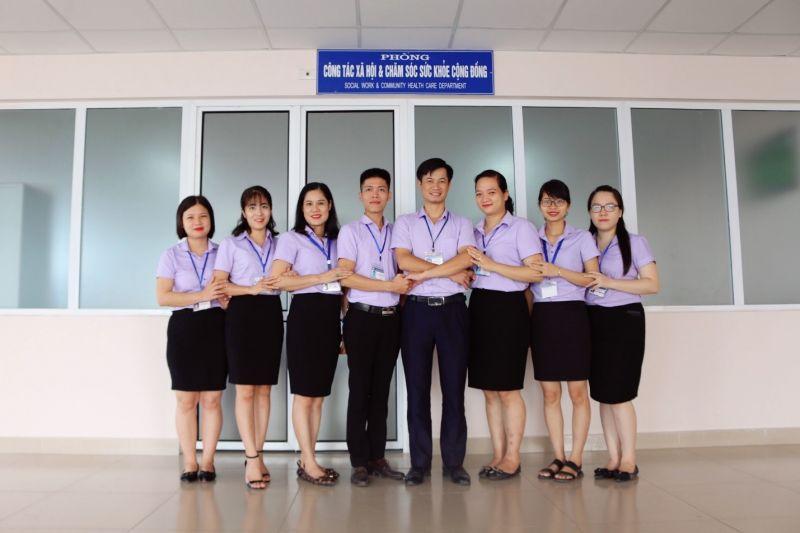 Đồng phục sơ mi cán bộ nhân viên bệnh viện Thái Nguyên