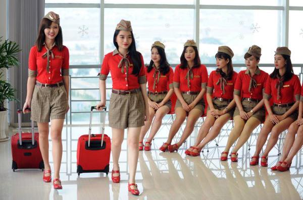 Đồng phục sơ mi hàng không Vietjet