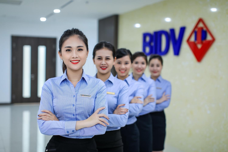Đồng phục sơ mi ngân hàng BIDV