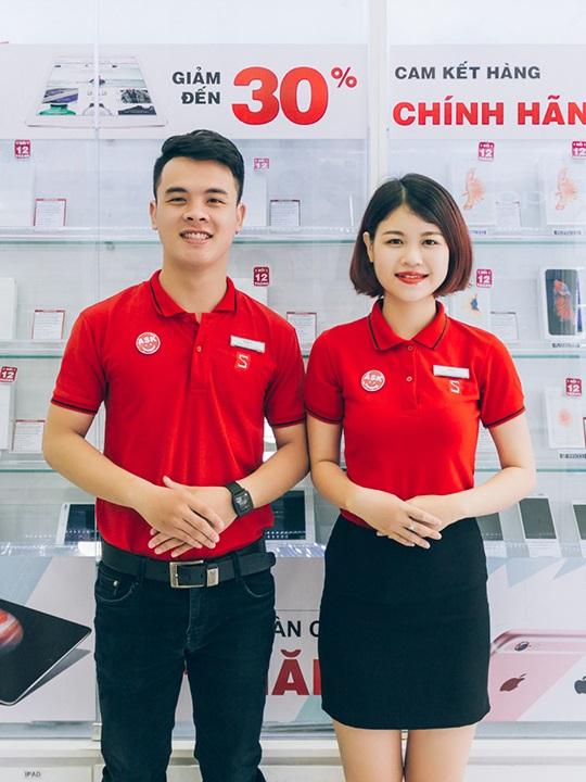 Đồng phục thun doanh nghiệp CellphoneS