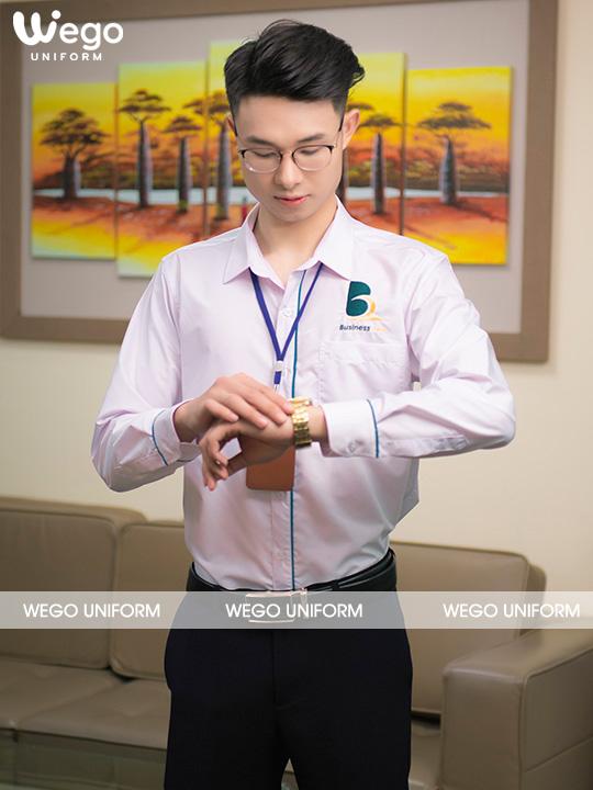 Áo sơ mi đồng phục học viện CEO