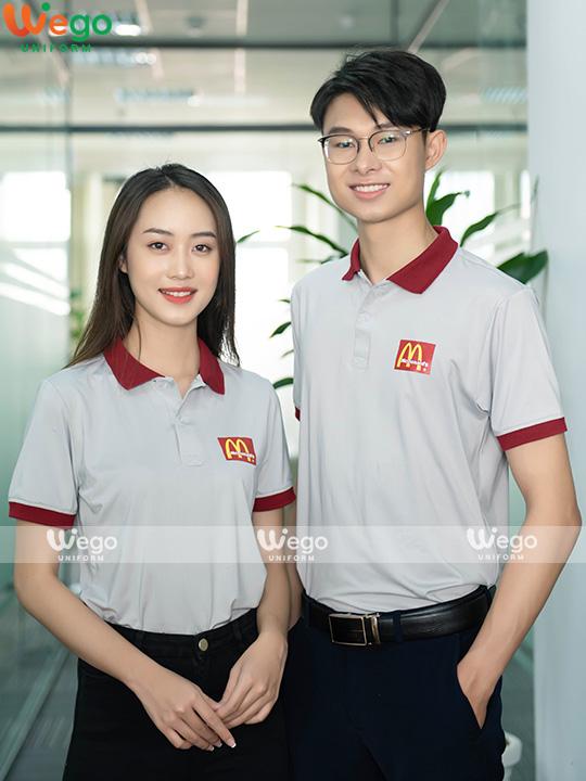 Áo phông đồng phục McDonald's-1