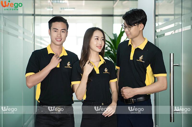 Áo phông - áo thun đồng phục quán cafe Đắng-2