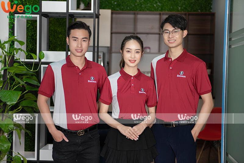 Áo phông đồng phục doanh nghiệp Baseus-2