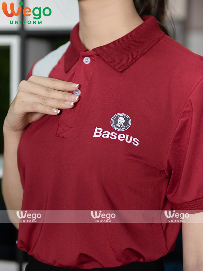Áo phông đồng phục doanh nghiệp Baseus-3