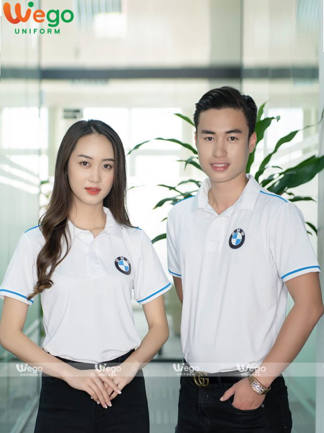 Áo phông đồng phục doanh nghiệp BMW-1