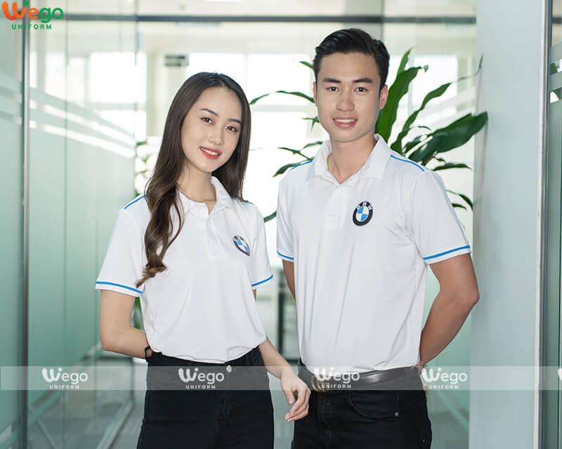 Áo phông đồng phục doanh nghiệp BMW-2