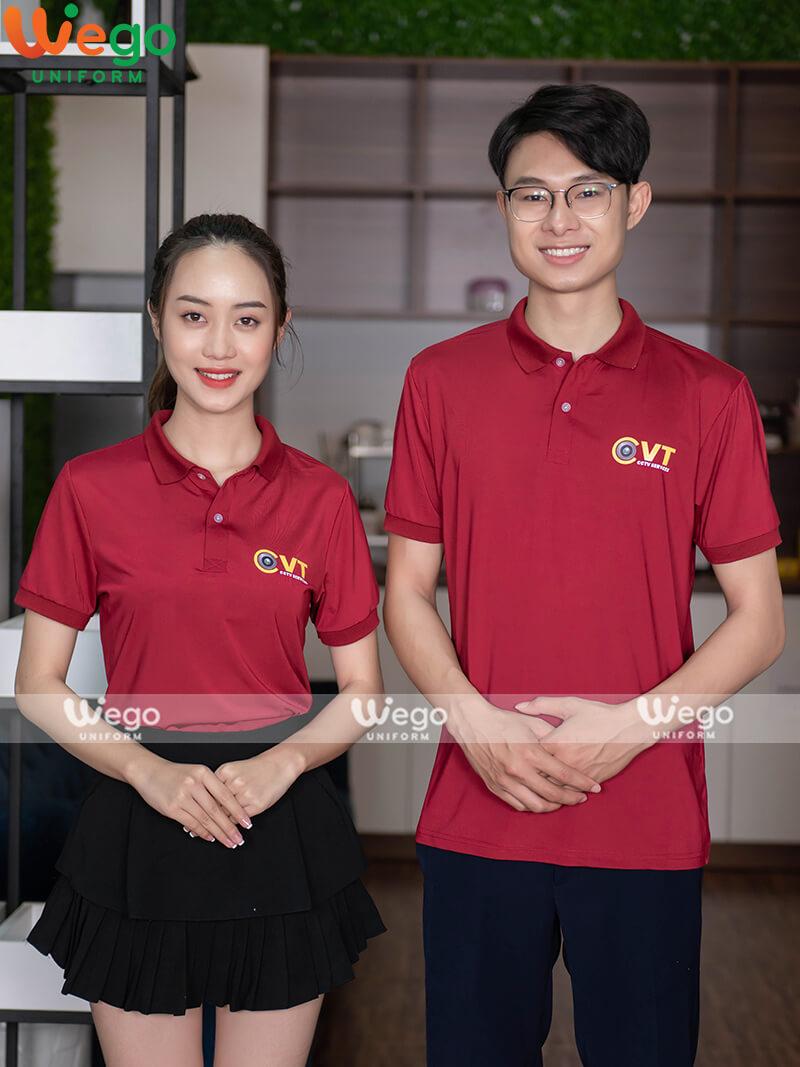 Áo phông đồng phục doanh nghiệp CCTV Services-1