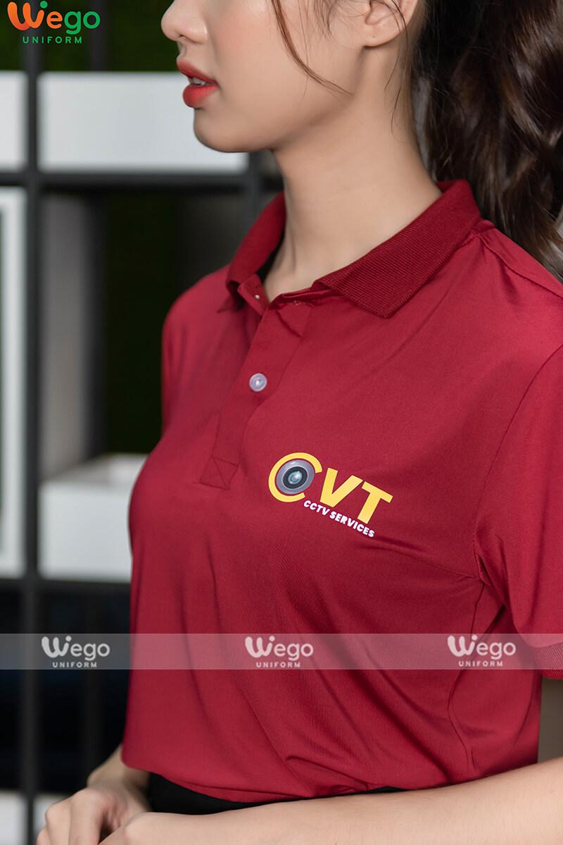 Áo phông đồng phục doanh nghiệp CCTV Services-3