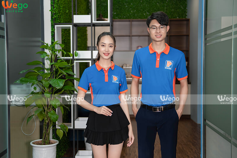 Áo phông đồng phục Petrolimex-2