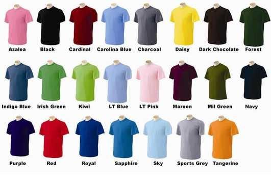 Hướng dẫn chọn màu sắc cho áo đồng phục doanh nghiệp