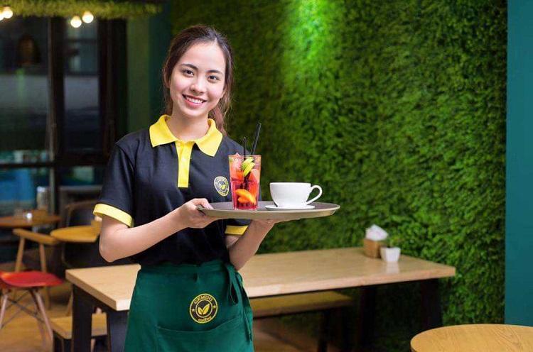 Kinh nghiệm đặt may đồng phục quán cafe, trà chanh