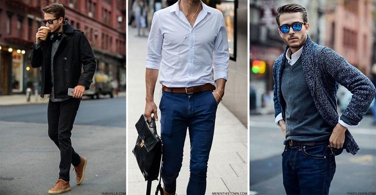 3 kiểu quần công sở đẹp phối với áo đồng phục dành cho nam giới-3