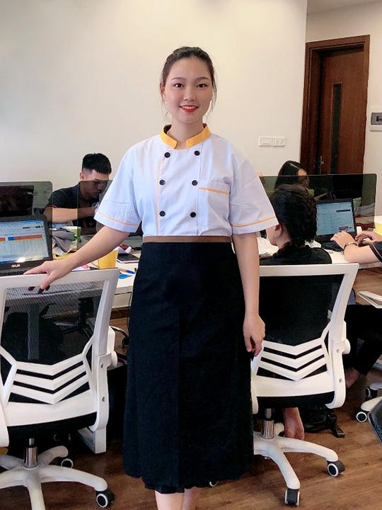 Áo đồng phục đầu bếp AB001