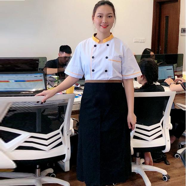 Áo đồng phục đầu bếp AB0001