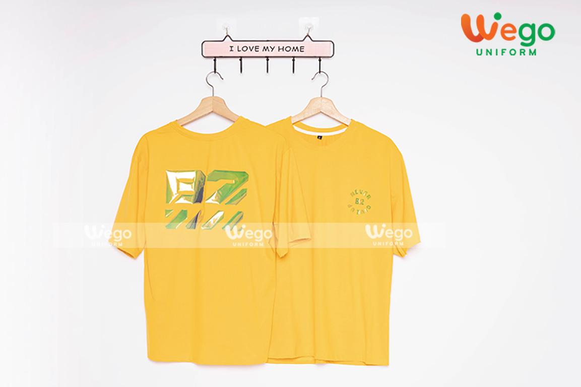 áo đồng phục màu vàng- xu hướng của năm 2020-1